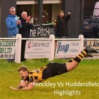 Hinckley Vs Huddersfield - Highlights