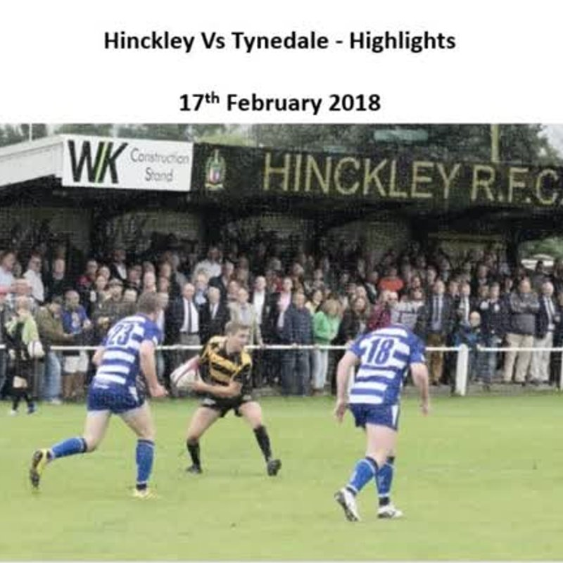 Hinckley Vs Tynedale - Highlights
