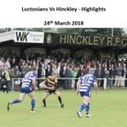 Luctonians Vs Hinckley - Highlights