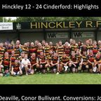 Hinckley 12 - 24 Cinderford - Highlights