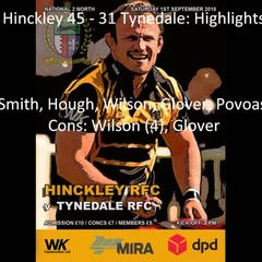 Hinckley 45 - 31 Tynedale - Highlights
