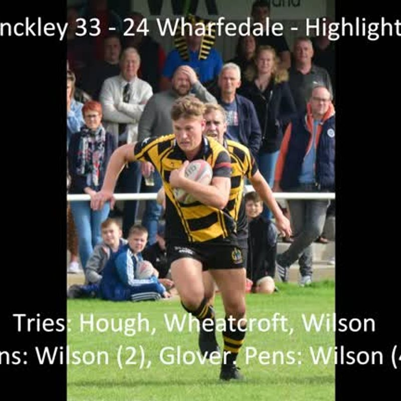 Hinckley 33  - 24 Wharfedale - Highlights