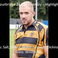 Stourbridge 24 - 33 Hinckley - Highlights