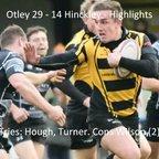 Otley 29 - 14 Hinckley - Highlights