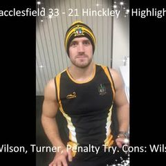 Macclesfield 33 - 21 Hinckley - Highlights