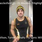 Macclesfield 33 - 21 Hinckley - Highlights