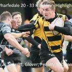 Wharfedale 20 - 33 Hinckley  - Highlights