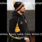 Hullionians 31 - 27 Hinckley - Highlights
