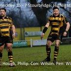 Hinckley 15 - 7 Stourbridge - Highlights
