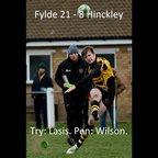 Fylde 21 - 8 Hinckley - Highlights
