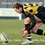 Hinckley 14 - 25 Otley - Highlights