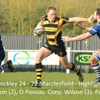 Hinckley 24 - 22 Macclesfield - Highlights