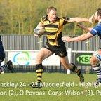 Hinckley 24 - 22 Macclesfield - Highlights