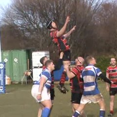 Craig Newlands 2nd try v North Shields Sat. 4th March 2017