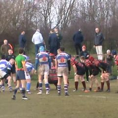 Craig Newlands Hat Trick Try v North Shields Sat. 4th March 2017