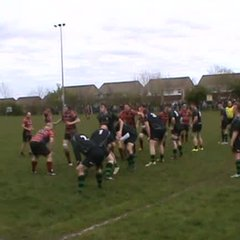 Steve Bryce's try v Blyth Sat. 22nd April 2017