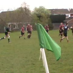 Craig Newlands 4th try v Blyth Sat. 22nd April 2017