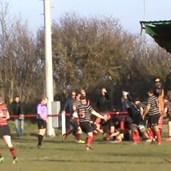 Dominic Ayre's 1st try v Darlington 16th feb. 2019