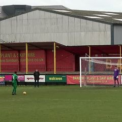Charlie Barnett's two saves against Bedworth in U18 Penalty Shoot-Out