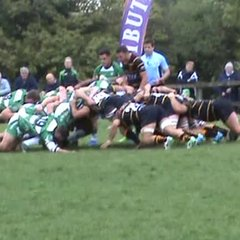 Sam Matavesi's try against Devon last weekend.