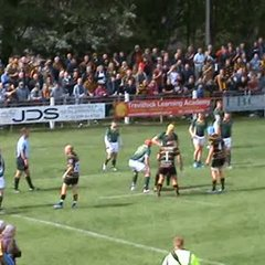Lewis Vinnicombe's 2nd try against Hertfordshire