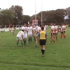 Phil Hinchley is driven over for 'Towns' 5th try against Newton Abbot