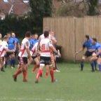 Second half tries at Weston