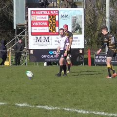 Injury time penalty seals victory for Cornwall u20's