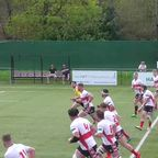 Taron Peacock grabs Town's first try at Maidenhead
