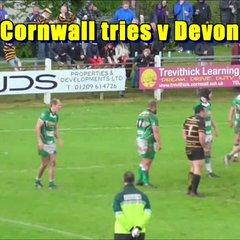 Three tries from Cornwall v Devon