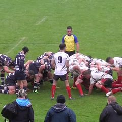 Lewis crashes over for first try for Town
