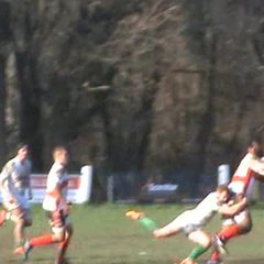 Cooky crashes over for Town's second try @ Newton Abbot
