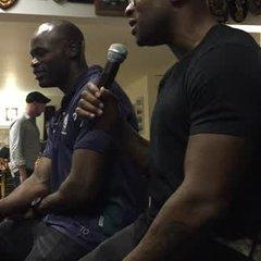 Ugo Monye and Topsy Ojo - Red Rose motivation