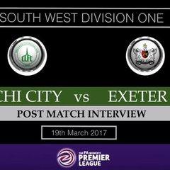 Chichester City vs Exeter City