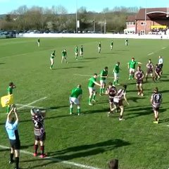 Titans Tries v London Irish Wild Geese Home