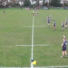 1st half v Bowdon