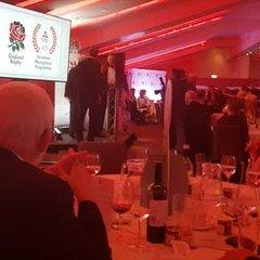 Elliot Fortey acceptance speech for Mitsubishi Motors Volunteer of the Year Awards at Twickenham Stadium
