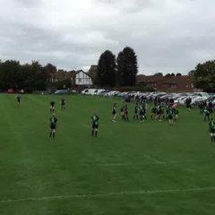 Greg Humphreys 1st try vs New Ash Green