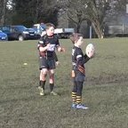 U9's Team Effort Try