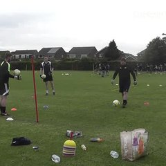 Mark Smitheringale puts the players through their paces