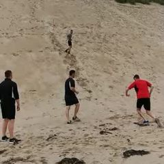 Pre-season Training at Portrush video 1