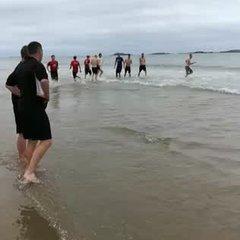 Pre-season Training at Portrush video 2