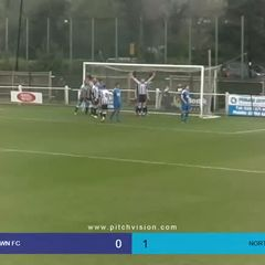 Highlights Hanwell town v Northwood Dwayne Duncan Goal