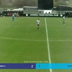 Highlights Hanwell Town v Northwood - Louis Bircham Goal