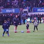 U9s @ Saracens Half time game - Clip 5