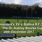The Dr. Aubrey Bourke Cup 2017 (No Sound)