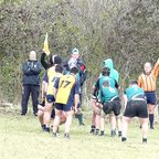 Colts v Worthing Line out