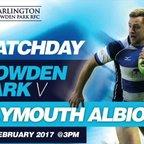 Team News v Plymouth Albion (04.02.17)
