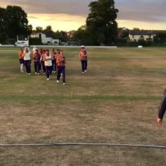 Blazers Over 40s QF v Davenham, 8 August 2018