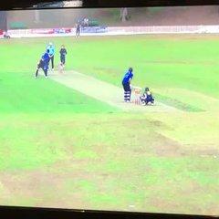 Ben Joy taking a catch for Sydney University first team